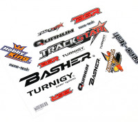 HobbyKing Sticker Sheet - Voitures