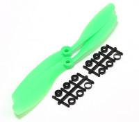 Turnigy slowfly Hélice 8x4.5 Green (CCW) (2pcs)