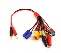 10 en 1 multi Charge Plug-Set Adapter (de 1pc)
