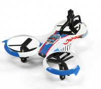 MINI UFO Y-4 Micro Multicopter w / émetteur 2.4GHz et Auto-Flip Feature (Mode 2) (Ready to Fly)