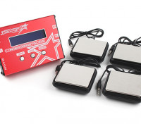 TrackStar Coin système Poids - pour 1/8, 1/10, 1/12 Car Chassis