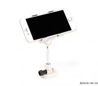 Transmetteur Smartphone Support de fixation (Blanc)