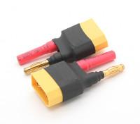 Adaptateur Batterie XT90 à 4.0mm bullet (2pcs / sac)