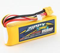 ZIPPY Compact 1500mAh 3s 40c Lipo Paquet