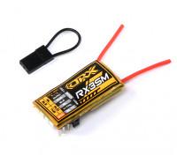 OrangeRx MicroRX3S 3 axes de vol Stabilisateur DSMX / DSM2 Compatible 4CH 2.4Ghz Rx w / Rem Gain Control
