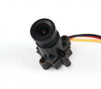 Mini CMOS FPV Caméra 520TVL 120deg Field Of Vision 0.008LUX 14 x 14 x 29mm (NTSC)