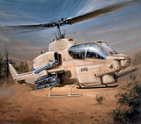 Italeri 1/48 Kit Echelle de Bell AH-1W Super Cobra Plastic Model