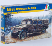 Italeri 1/35 Échelle Kit de commande M998 US Vehicle Plastic Model