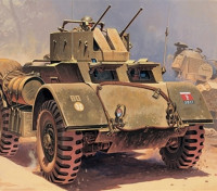Kit Italeri 1/35 Échelle T17E2 Staghound AA Plastic Model