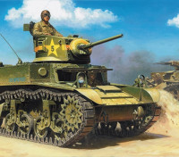 Kit Italeri 1/35 Échelle M3A1 Plastic Model