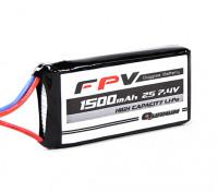 Quanum FPV Headset batterie 7.4V 1500mAh 3C