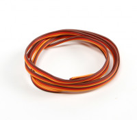 26AWG Servo Fil 1mtr (Rouge / Brun / Orange)