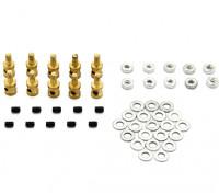 Brass Linkage Stopper Pour Pushrods 1mm (10pcs)