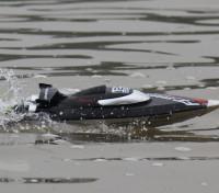 FT012 Brushless V-Hull Course de bateaux avec fonction d'auto-redressement (Plug UE)