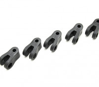 Heavy Duty Nylon Chapes 23 × 12,5 × 10mm (5pc)