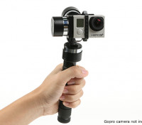 Z-1 Pro 3-Axis Handheld Stabiliser Gimbal pour GoPro