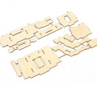 Durafly® ™ Tundra - Contreplaqué FPV Plateau (Kit)