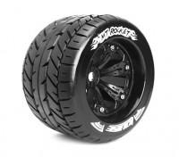 """LOUISE MT-ROCKET 1/8 Scale Perle style Traxxas 3,8 """"Monster Truck SPORT Composé / Noir Rim"""