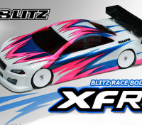 BLITZ XFR Race Light Body (de 190mm) (de 0.7mm) EFRA 4028