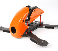 HobbyKing ™ Robocat 270mm vrai Carbon Racer Quad (Orange)