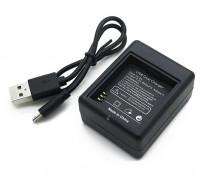 Chargeur USB pour la batterie de l'appareil photo Xiaoyi action