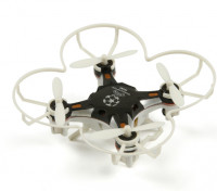 FQ777-124 Pocket Drone 4CH 6Axis Gyro Quadcopter Avec commutable Controller (RTF) (Noir)