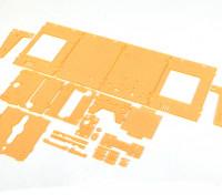 Turnigy Mini Fabrikator 3D Printer v1.0 Spare Parts - orange Logement