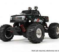 Basher 1/16 4WD Mini Monster Truck V2 - Hellseeker (Kit)