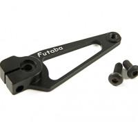 CNC en aluminium Servo Arm - Futaba (Noir)