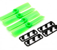 GemFan Bull Nose 3545 Hélices ABS CW / CCW Set Green (2 paires)