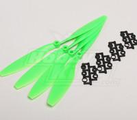 GWS style slowfly Hélice 10x4.5 Green (CW) (4pcs)