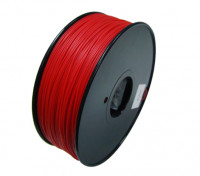 HobbyKing 3D Filament Imprimante 1.75mm HIPS 1.0KG Spool (Solid Red)