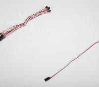 30CM Servo Lead (Futaba) 32AWG Ultra Light (10pcs / set)