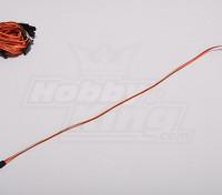 30CM Servo Lead (JR) 32AWG Ultra Light (10pcs / set)