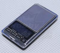 Échelle en acier inoxydable Digital Pocket