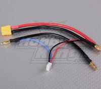 XT-60 Plug-harnais pour Lipo 2S Saddle pack LiPoly Batteries