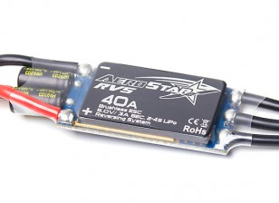 Aerostar RVS 40A Electronic Speed Controller w/Reverse Function 3A BEC (2~4S)