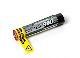 Turnigy Nano-Tech 900mah 1S 15C Round Lipo