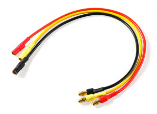 3.5mm Male/Female Bullet Brushless 18AWG Motor Extension Lead 200mm