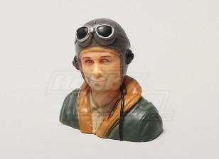 WW2 / Classique Era Pilot (H66 x W66 x D35mm)