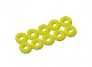 2 en 1 kit joint torique (jaune fluo) -10pcs / sac