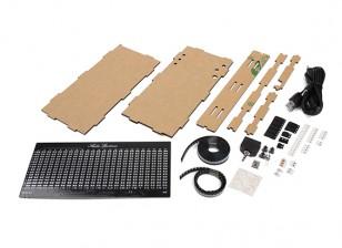 AS1424 DIY Kit Musique Spectrum LED clignotante