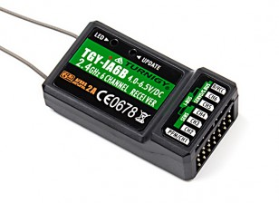 Récepteur Turnigy iA6B V2 Receiver 6CH 2.4G AFHDS 2A Telemetry w Sbus