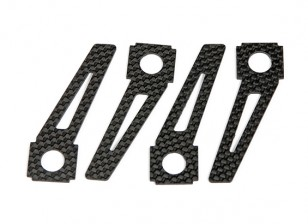 patins en fibre de carbone