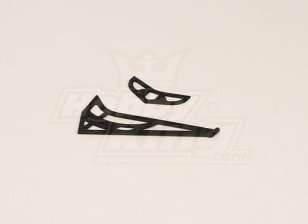 GT450PRO plastique horizontal / vertical Tail Fin