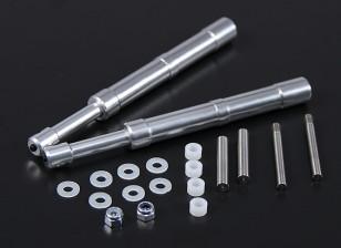 Alloy Oleo Strut 115mm Mains droites pour 40 ~ 60 Classe 2pc