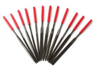 Needle Files T12 (acier / alliage / Plastique)