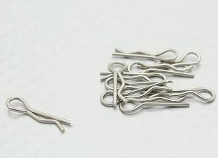 Body clip D (10Pcs / Sac) - 110BS, A2003, A2010, A2027, A2028, A2029, A3007 et A3015