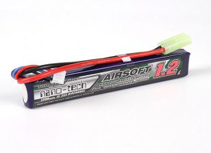 Turnigy nano-tech 1200mah 2S 15 ~ 25C Lipo AIRSOFT Paquet