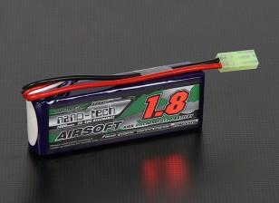 Turnigy nano-tech 1800mah 3S 25 ~ 50C Lipo AIRSOFT Paquet